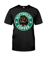 Rottweiler Coffee Classic T-Shirt front