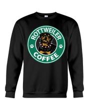 Rottweiler Coffee Crewneck Sweatshirt thumbnail