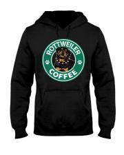 Rottweiler Coffee Hooded Sweatshirt thumbnail