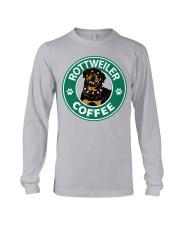 Rottweiler Coffee Long Sleeve Tee thumbnail