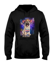 Pug Independence 0606 Hooded Sweatshirt thumbnail