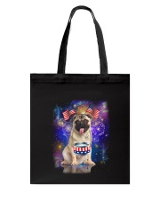 Pug Independence 0606 Tote Bag thumbnail