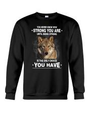 Wolf Strong 2405 Crewneck Sweatshirt thumbnail