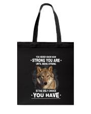 Wolf Strong 2405 Tote Bag thumbnail