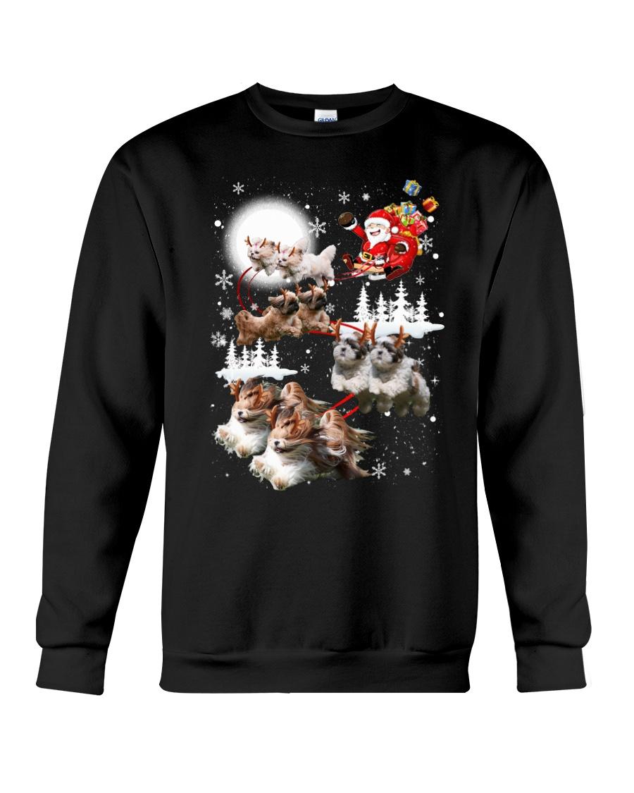 Shih Tzu Reindeers - 0711 - 53 Crewneck Sweatshirt