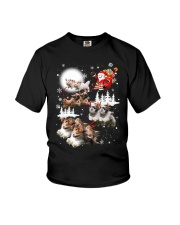 Shih Tzu Reindeers - 0711 - 53 Youth T-Shirt thumbnail