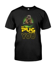 Pug With You 2504 Classic T-Shirt front