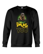 Pug With You 2504 Crewneck Sweatshirt thumbnail