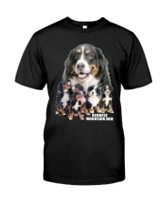 Bernese Mountain Dog Awesome Classic T-Shirt front