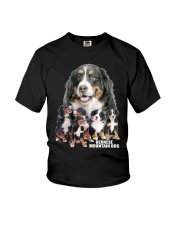 Bernese Mountain Dog Awesome Youth T-Shirt thumbnail