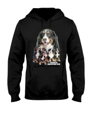Bernese Mountain Dog Awesome Hooded Sweatshirt thumbnail