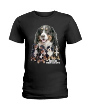Bernese Mountain Dog Awesome Ladies T-Shirt thumbnail