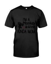 Monkey Kinda Mom 2304 Classic T-Shirt thumbnail