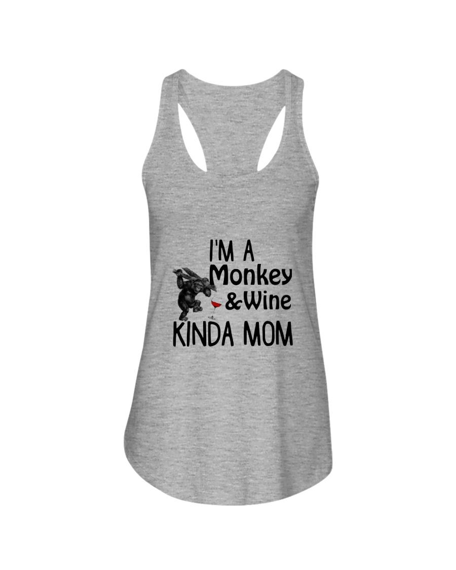Monkey Kinda Mom 2304 Ladies Flowy Tank
