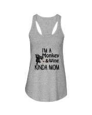 Monkey Kinda Mom 2304 Ladies Flowy Tank front