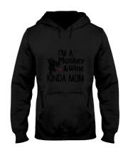 Monkey Kinda Mom 2304 Hooded Sweatshirt thumbnail