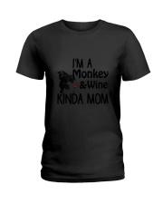 Monkey Kinda Mom 2304 Ladies T-Shirt thumbnail
