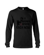 Monkey Kinda Mom 2304 Long Sleeve Tee thumbnail