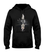 Border Collie In Dream Hooded Sweatshirt thumbnail
