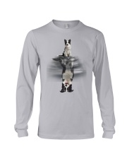 Border Collie In Dream Long Sleeve Tee thumbnail
