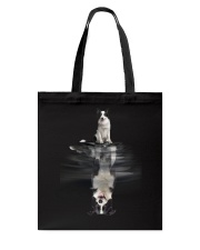 Border Collie In Dream Tote Bag thumbnail