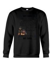 Rottweiler My Dad 0506 Crewneck Sweatshirt thumbnail