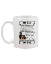 Rottweiler My Dad 0506 Mug back