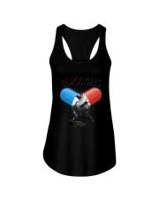GAEA - Black  Cat Addictive 1804 Ladies Flowy Tank thumbnail