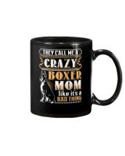 Boxer Crazy Mom Mug thumbnail