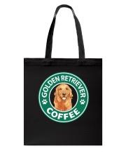 Golden Retriever Coffee Tote Bag thumbnail
