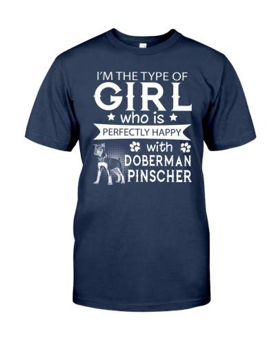 Doberman Pinscher Perfect Girl