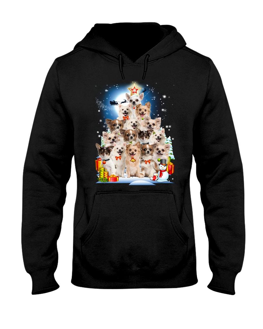 Chihuahua Pine Hooded Sweatshirt