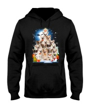Chihuahua Pine Hooded Sweatshirt front