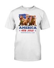 Pitbull 4th7 0706 Classic T-Shirt front