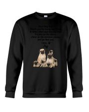 Pug Love Dad 3005 Crewneck Sweatshirt thumbnail