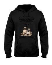 Pug Love Dad 3005 Hooded Sweatshirt thumbnail