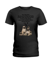 Pug Love Dad 3005 Ladies T-Shirt thumbnail