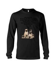 Pug Love Dad 3005 Long Sleeve Tee thumbnail