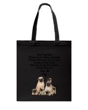 Pug Love Dad 3005 Tote Bag thumbnail