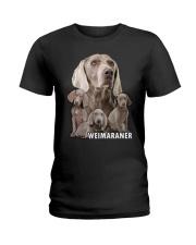 Weimaraner Awesome Ladies T-Shirt thumbnail