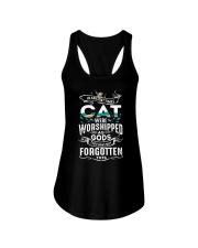 Cat Worshipped 3105 Ladies Flowy Tank thumbnail