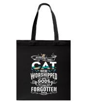 Cat Worshipped 3105 Tote Bag thumbnail