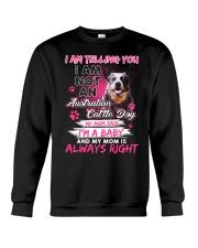 ZEUS - Australian Cattle Dog Baby - 97 Crewneck Sweatshirt front