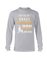 German Shepherd Crazy Mom Long Sleeve Tee thumbnail