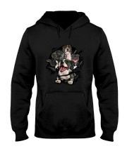 Staffordshire Bull Terrier Scratch Hooded Sweatshirt tile