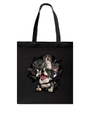 Staffordshire Bull Terrier Scratch Tote Bag thumbnail