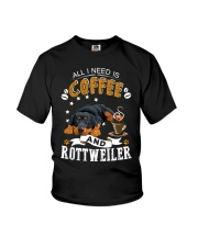 Rottweiler Coffee And Youth T-Shirt thumbnail