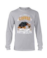 Rottweiler Coffee And Long Sleeve Tee thumbnail