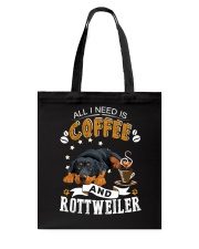 Rottweiler Coffee And Tote Bag thumbnail