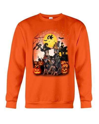 Doberman Pinscher Halloween - 2408 - A4